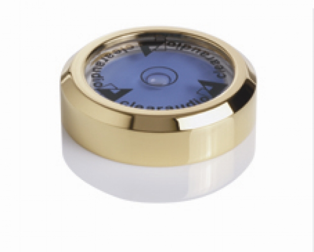 Level gauge Gold plated