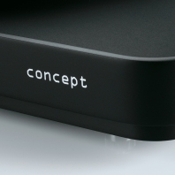 concept MM black/black Satisfy Kardan tonearm
